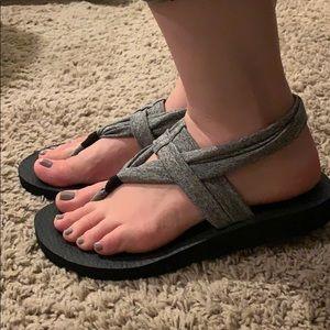 Women's sandals by Skechers